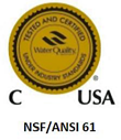 WQA Gold Seal NSF/ANSI 61